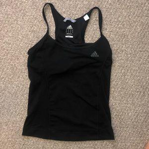 Adidas small tank top (built in sports bra) SMALL